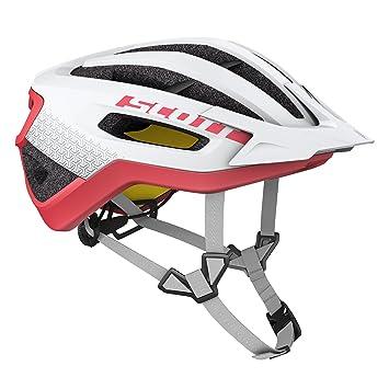 Scott Fuga Plus XC bicicleta de montaña casco blanco/rojo 2018, white/melon
