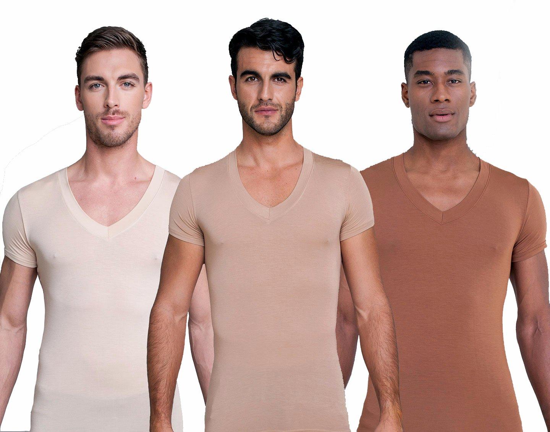 Skin coloured undershirt