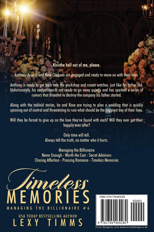 Timeless Memories (Managing the Billionaire): Amazon.es: Timms ...