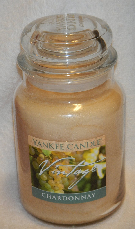 Yankee Candle Vintage Chardonnay Large 22 oz Jar Candle