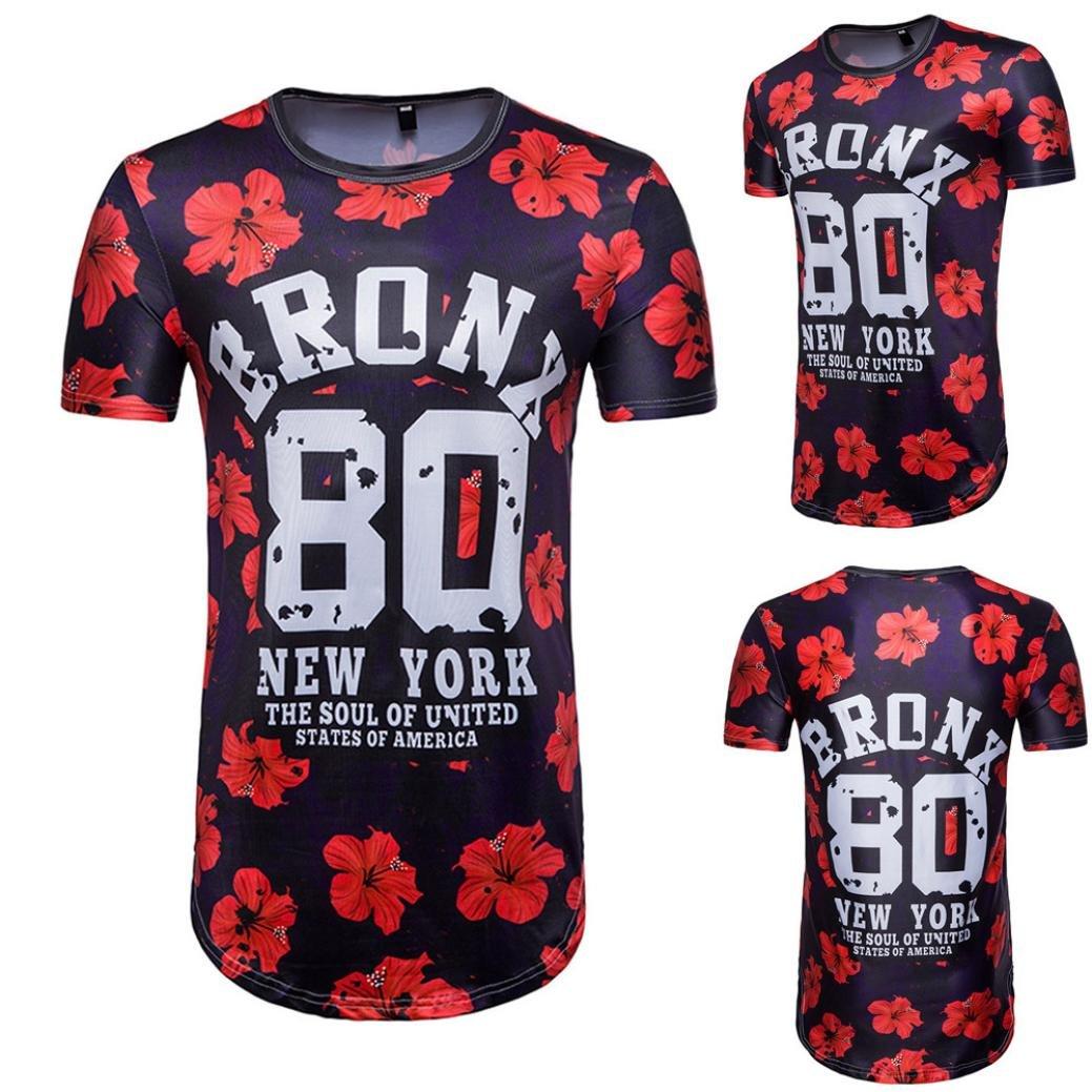 lywey 2018 Fifa WorldメンズTシャツ夏フットボールクール3d印刷文字Oネック半袖Tシャツトップブラウス B07BDLQ9JYBRONX 80 Small