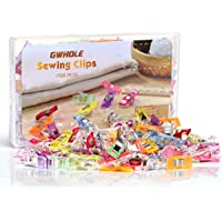 GWHOLE Pack of 108 Sewing Clips for Quilting Crafting, Craft Clips, Multi-Color