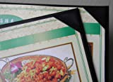 """10 Pcs of Restaurant Menu Covers Holders 8.5"""" X 11"""" Inches,No Stitching or Welding,Single View,Sold by Case,with Clear PVC Sheets for Paper Protection"""