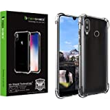 TechBasics Shockproof Bumper Back Case Cover for Xiaomi Redmi Mi 7/Mi Y3 -Transparent(Military Grade Drop Tested with AirShield Technology)