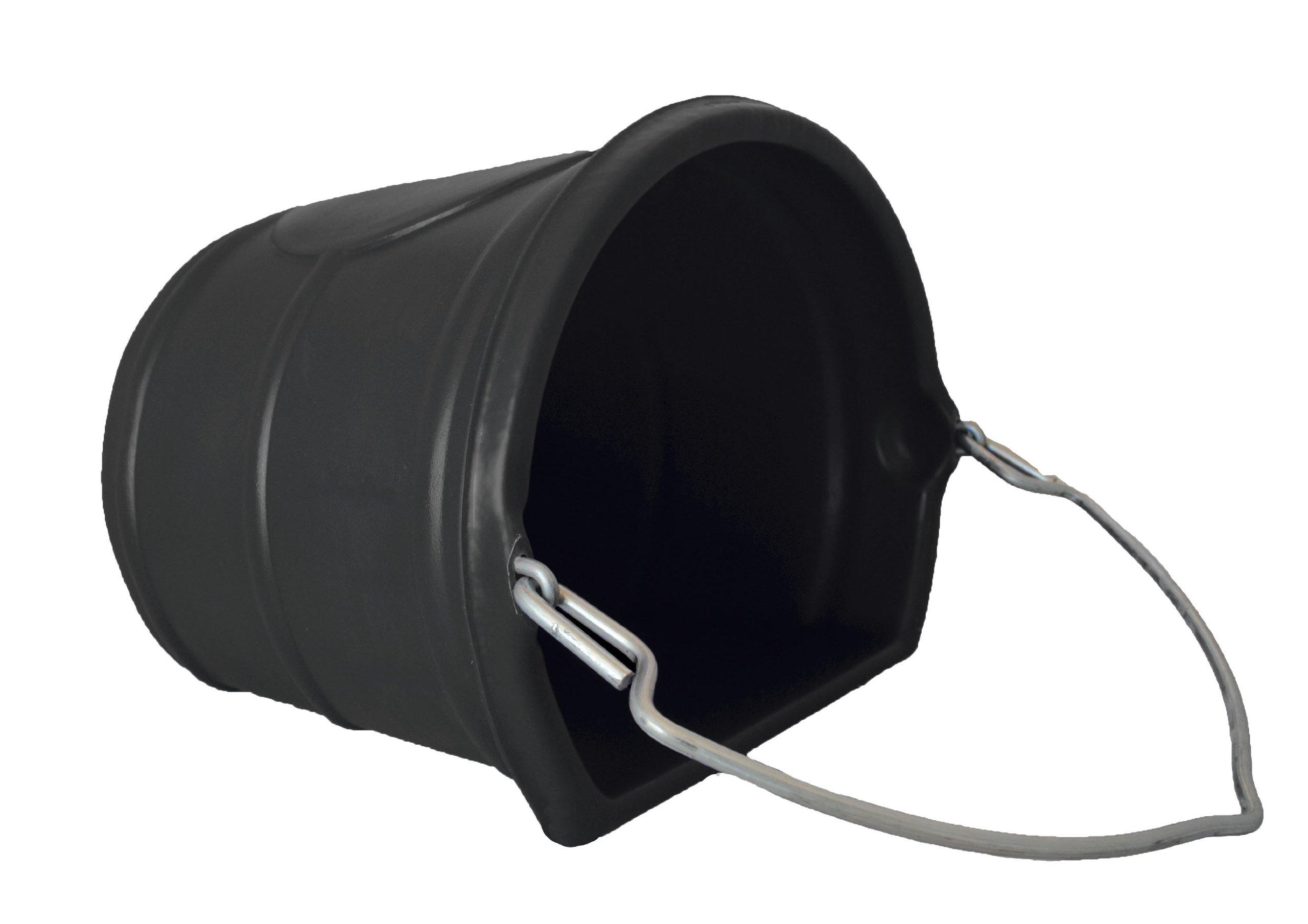 Horsemen's Pride 20 Quart Water Bucket, Black by Horsemen's Pride