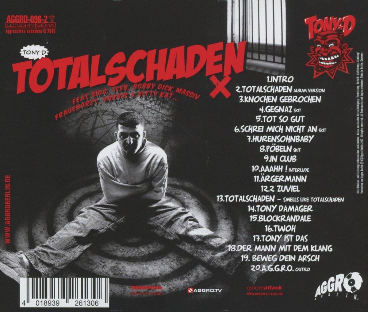 tony d totalschaden album