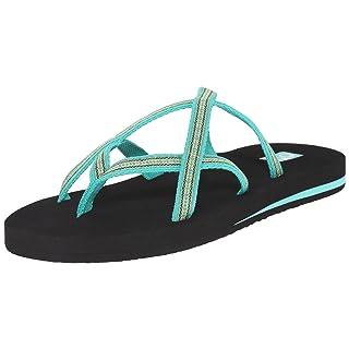 Teva Women's Olowahu-2 Pack Sandal, Mbob/Pintado Florida Keys, 8 M US