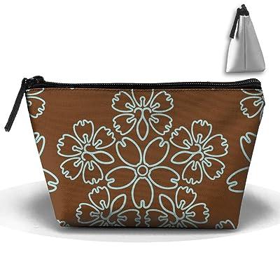 WQWSVX Japanese Flower Fashion Travel Bag Trapezoid