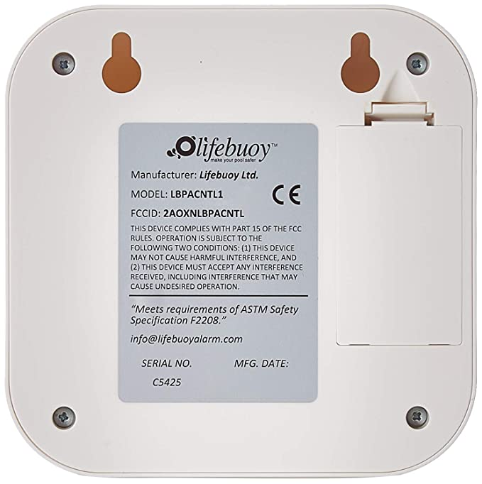 Amazon.com: Sistema de alarma de piscina Lifebuoy – Sensor ...