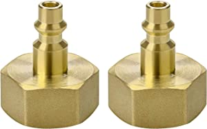 Winterize RV Blow Out Adapter with 1/4