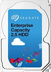 Seagate Enterprise Capacity 2.5 HDD | ST1000NX0453 | 1TB 7200RPM 128MB Cache 2.5-Inch | Dual SAS 12Gb/s Interface | 512n | Server Data Center Internal Hard Drive