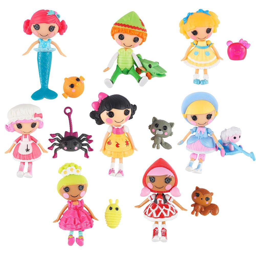 Mini Lalaloopsy Tales 3 inch Mini-Dolls - 8-Pack   Märchen - Mini Figuren Set 8 Stück - aus USA