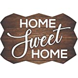 Paper Plane Design Sweet Home Wall Decoration Kitchen Decor Door Sign Wall Signs 18 inch by 12 inch