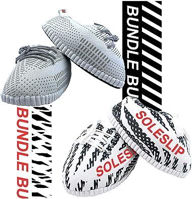 Amazon.com   SoleSlip Sneaker Slippers