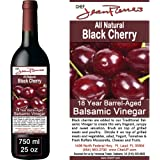 Black Cherry Traditional Barrel Aged 18 Years Italian Balsamic Vinegar 100% All Natural 750ml (25oz)