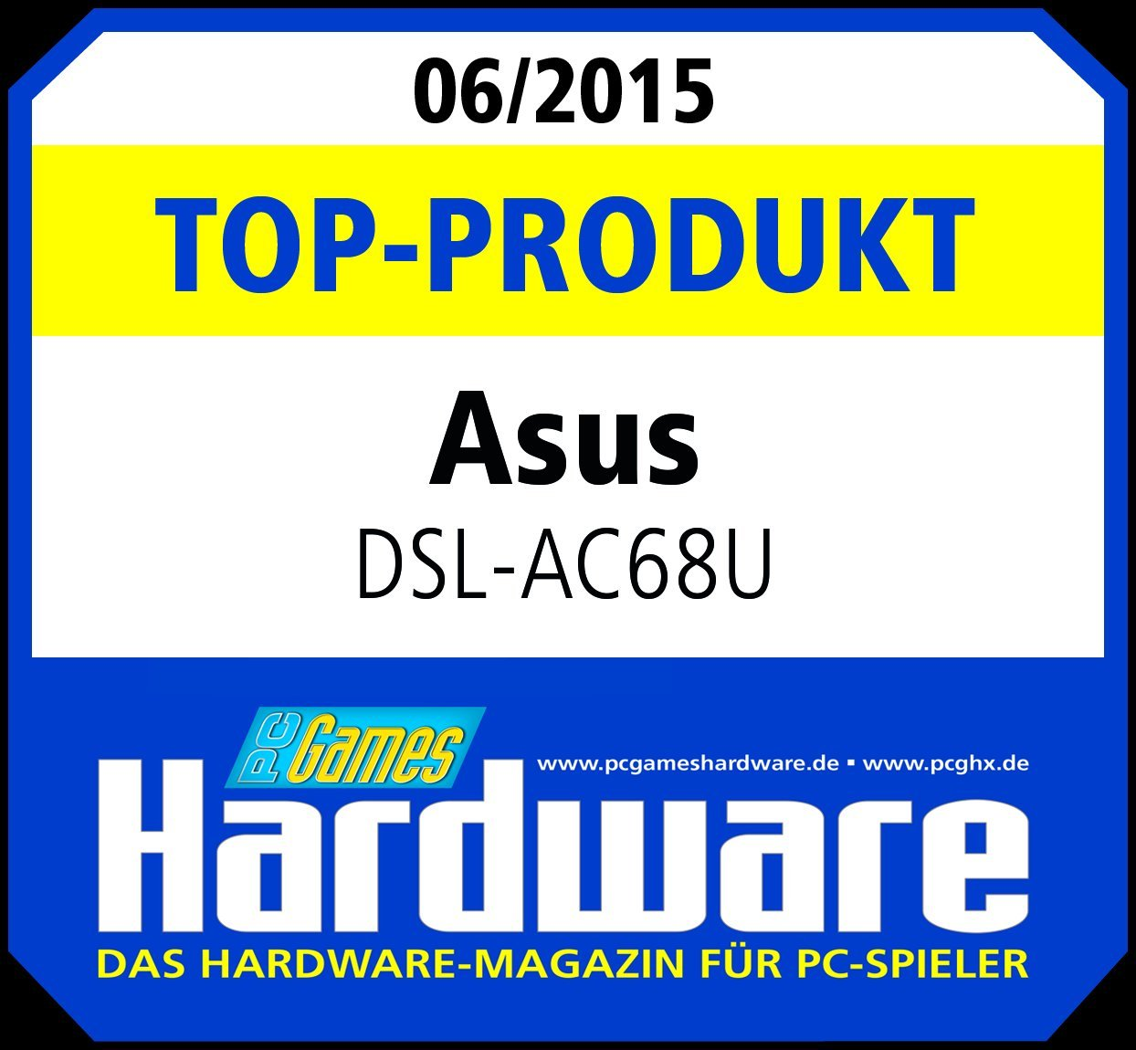 Asus DSL-AC68U AC1900 Black Diamond Dual-Band: Amazon.de: Computer ...