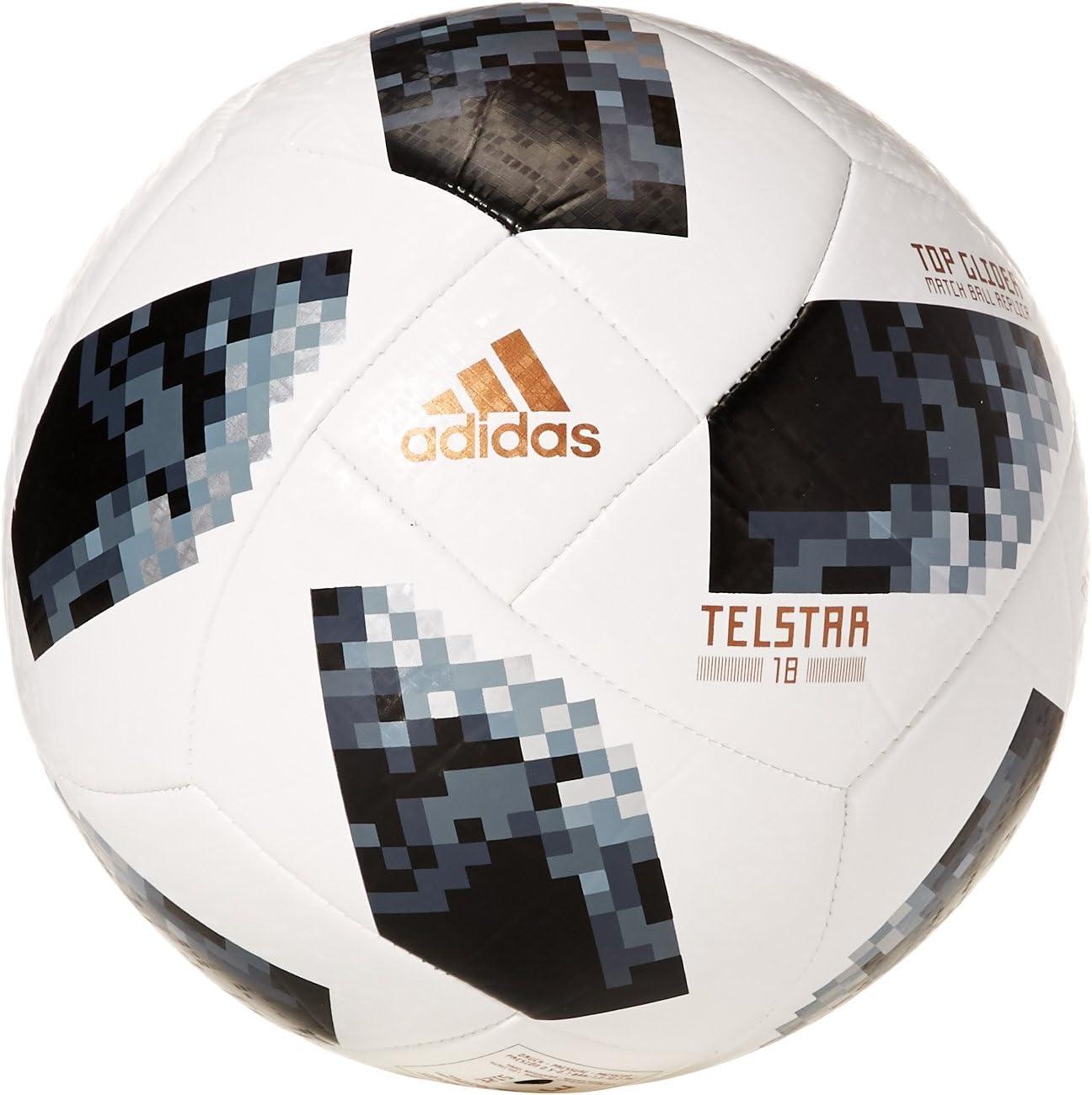 adidas Telstar World Cup Glider - Balón de fútbol, Color Blanco ...