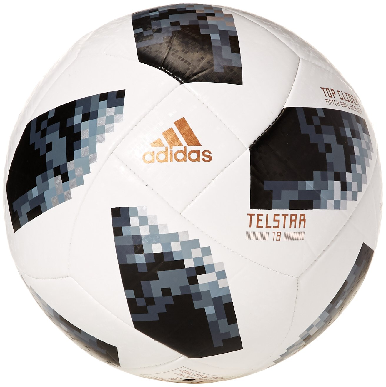 adidas Telstar World Cup Glider - Balón de fútbol, Color Blanco ...