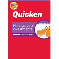 Quicken Premier Personal Finance Maximize Your Investments 1-Year Subscription (Windows/Mac)