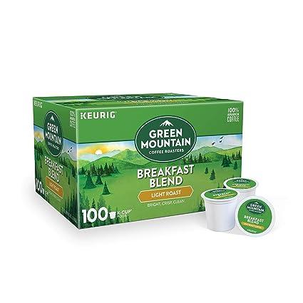 Green Mountain Café Tostadores Desayuno sabor mezcla, café ...