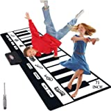 TNELTUEB 71 INCH Piano Mat, Extra Large Piano Musical Mat with 24 Keys, 8 Musical Instruments Dance Electronic Music…