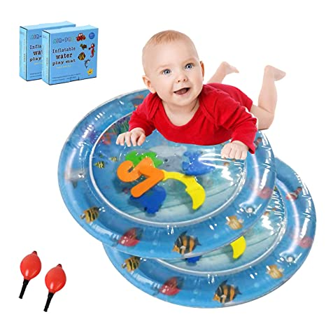 WYJHNL Colchoneta Inflable Tummy Time Water Play para Bebés ...