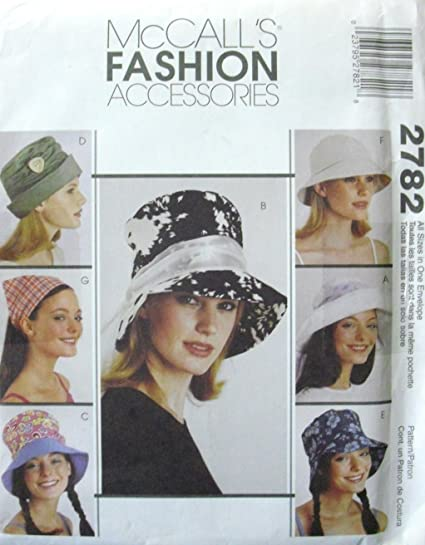 b8442977710 Amazon.com  McCall s pattern 2782  fashion accessories  all sizes ...
