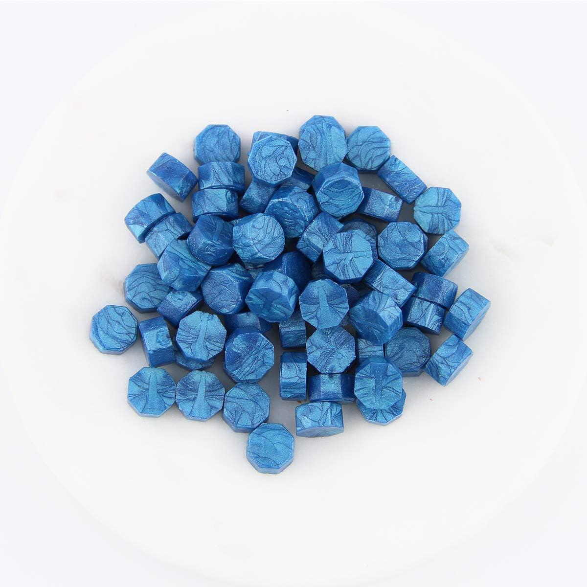 Blau Siegelwachs-St/ücke 25g. 33 Farben