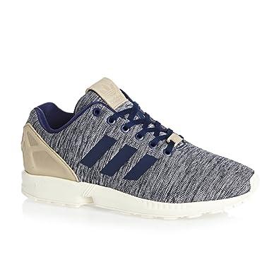 Herren Sneaker adidas Originals ZX Flux Sneakers, Blau Beige, 44 EU
