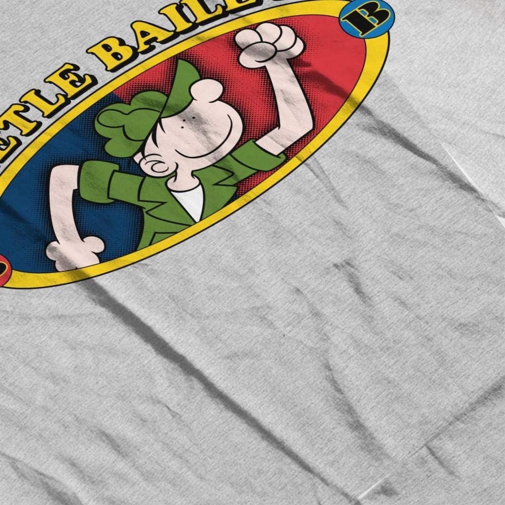Beetle Bailey BB Logo Womens Hooded Sweatshirt