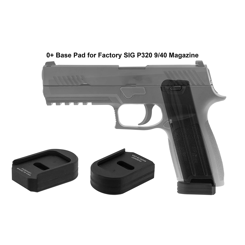 UTG Pro Plus 0 Base Pad, SIG P320 9/40