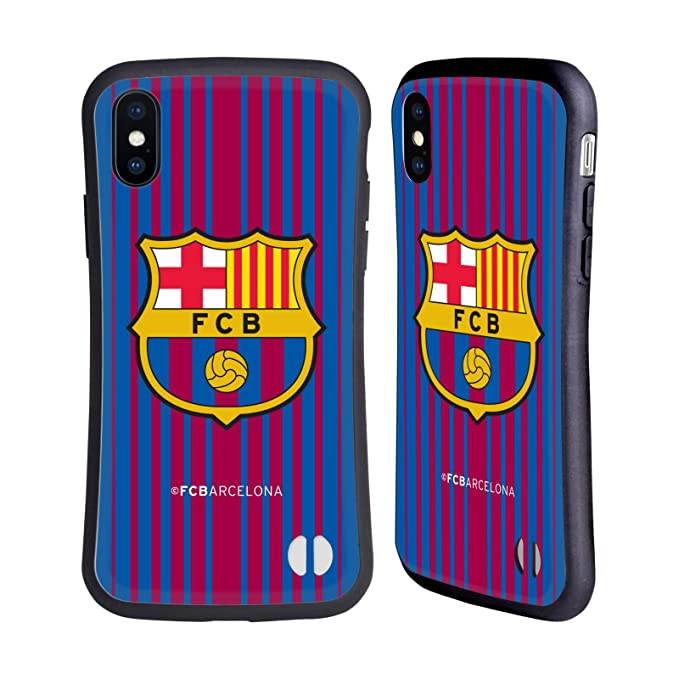0c4c95879 Image Unavailable. Image not available for. Color  Official FC Barcelona  Home 2017 18 Crest Kit ...