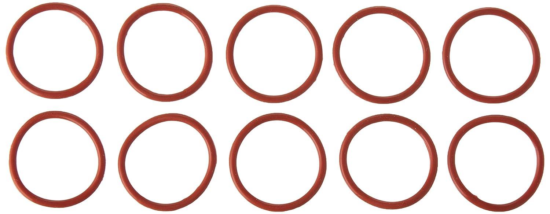 Sourcingmap, a13030700ux0439, 10 pezzi di gomma rossa di 30 mm x 2,5 mm di tenuta dell'olio O-rings sigilli Lavatrici 5 mm di tenuta dell' olio O-rings sigilli Lavatrici