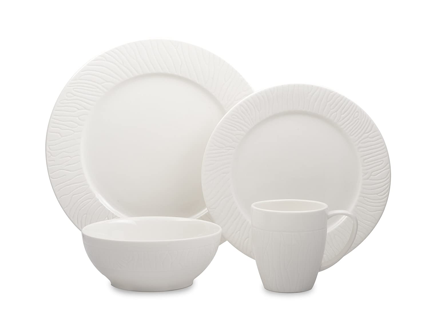 Cuisinart 16-Piece Dinnerware Set, Chailles Collection PO1-CHC