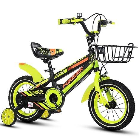 Xiaoping Bicicleta para niños, bicicleta para niños, 12 pulgadas ...