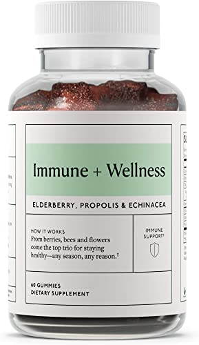 Objective – Immune Wellness – Vitamin C, Elderberry, Propolis and Echinacea – 60 Gummies