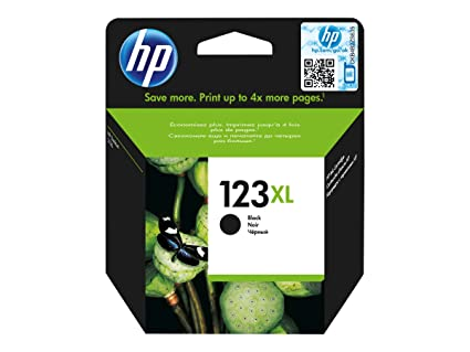HP 123XL Black ink cartridge - Cartucho de tinta para ...