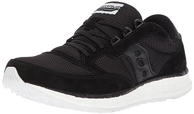 6ab5743a181f Saucony Originals Women s Freedom Runner Running Shoe Black 5 Medium US