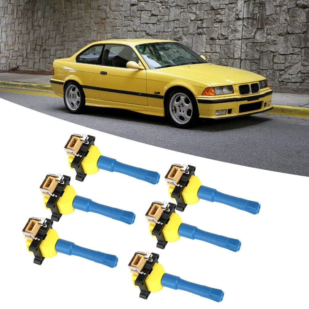 soporte de montaje de bobina de encendido de aleaci/ón de aluminio CNC apto para Ford Mustang F150 Negro Gorgeri Soporte de bobina de encendido