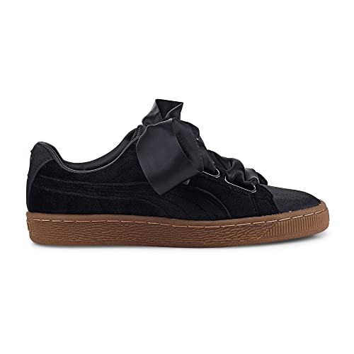 Puma Basket Heart VS W Calzado black/gold: Amazon.es: Zapatos y complementos