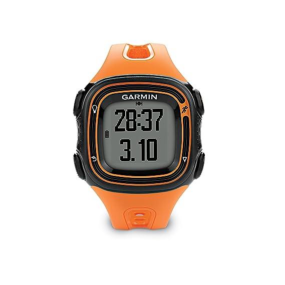 Garmin Forerunner 10 >> Amazon Com Garmin Forerunner 10 Gps Watch Black Orange Cell