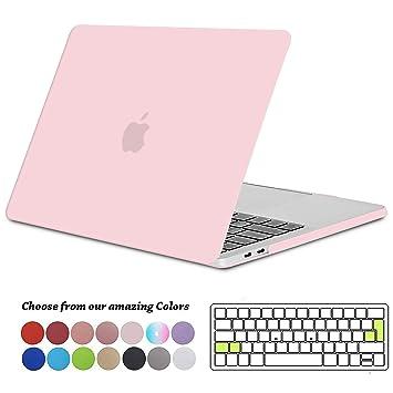 Tecool Funda para MacBook Pro 13 2016 2017 2018 2019, Plástico Dura Case Carcasa + Tapa del Teclado para MacBook Pro 13.3 Pulgadas con/sin Touch Bar ...