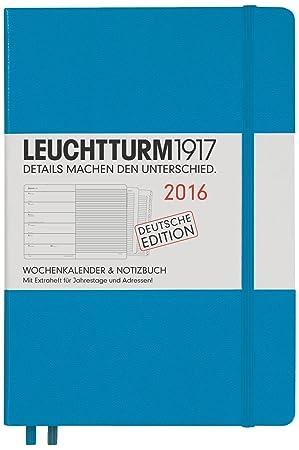 Leuchtturm1917 - Calendario semanal y agenda 2016 (incluye ...