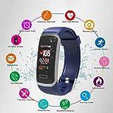 Fitness Tracker,Cotify Fitness Armbänder Aktivitätstracker,Herzfrequenzmonitor,Schlafmonitor,Schrittzähler mit 14 Trainingsmodi, ,GPS-Routenverfolgung,Alarme,Kameraaufnahme,USB Anschluss direkt laden für Android iOS Smartphone