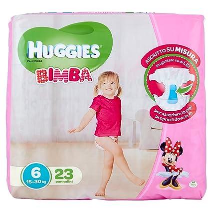 Huggies - Bimba - Pañales - Talla 6 (15-30 kg) - 23