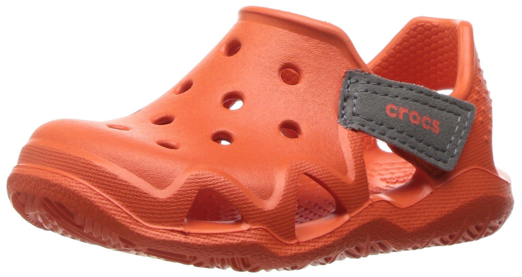 93a0fd9ba3c32e Galleon - Crocs Kids  Swiftwater Wave K Slip-On