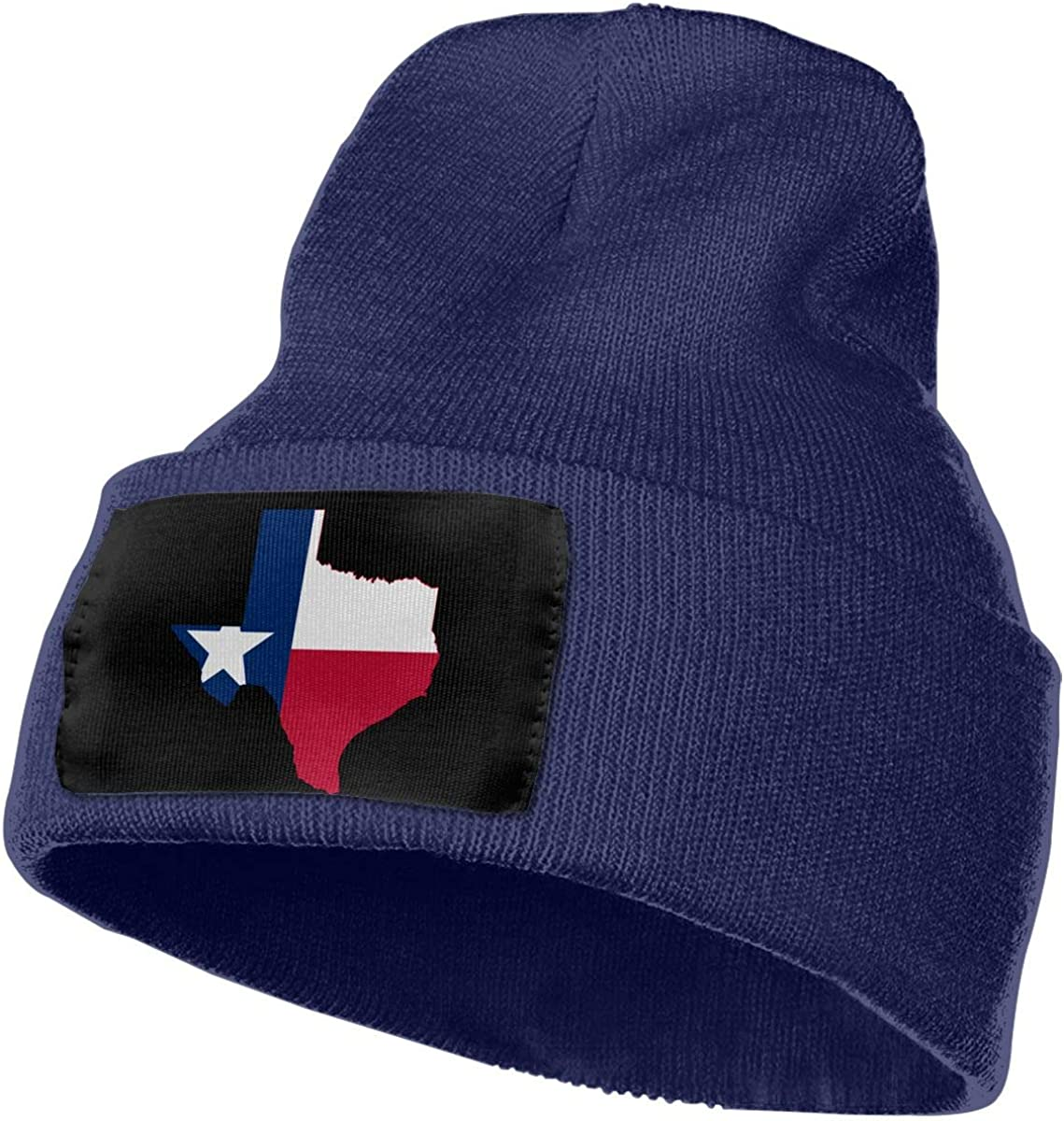 Texas Flag Outline Clipart Soft Skull Beanie WHOO93@Y Mens Womens 100/% Acrylic Knit Hat Cap