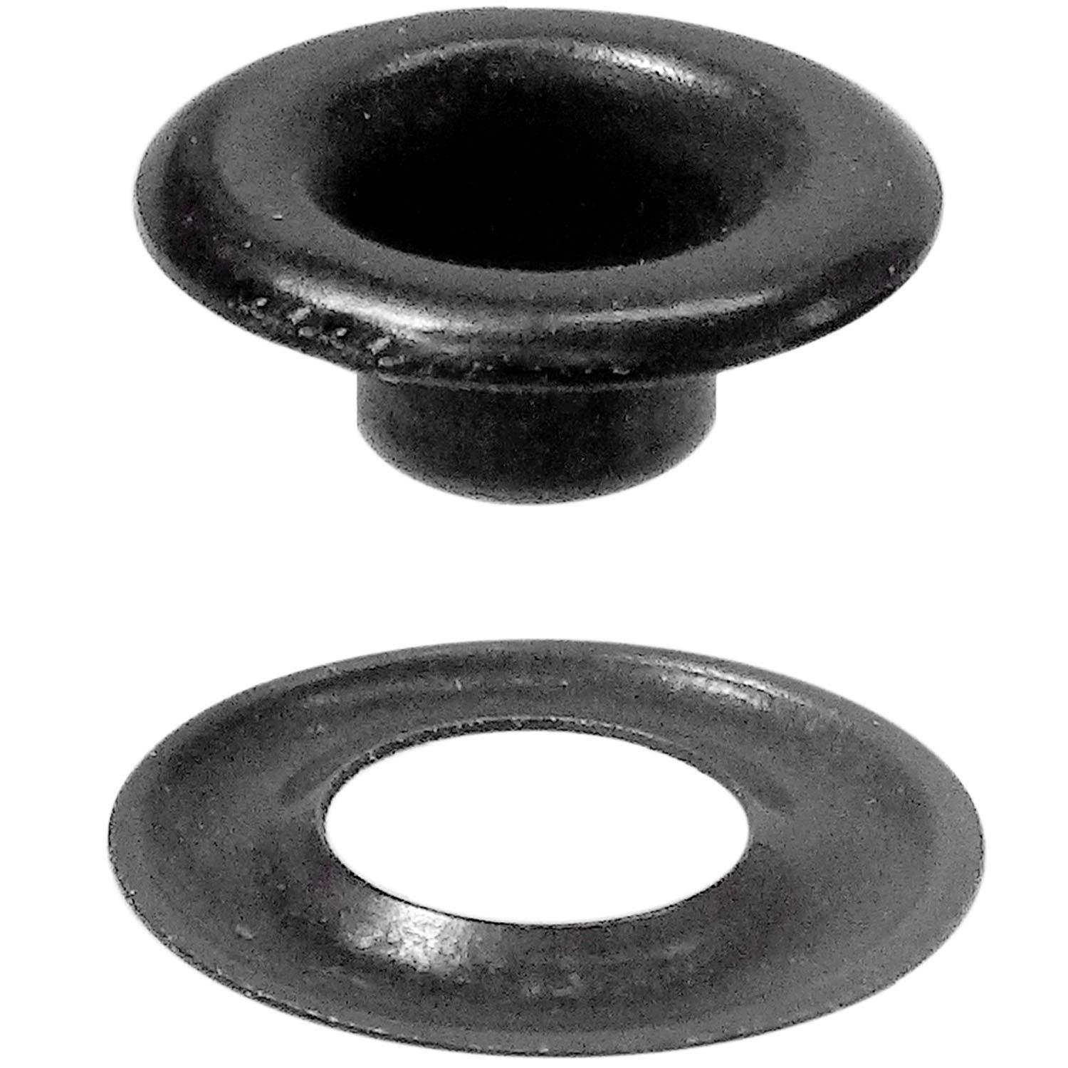 Stimpson Sheet Metal Grommet and Washer Dull Black Chem Durable, Reliable, Heavy-Duty #00 Set (1,440 pieces of each)