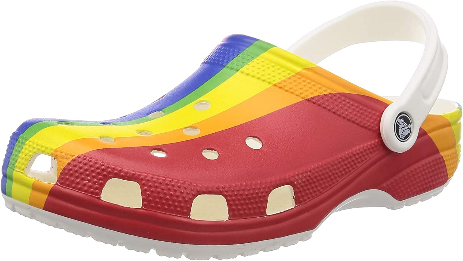 Crocs Unisex-Adult Classic Graphic Clog   Water Slip on Shoes