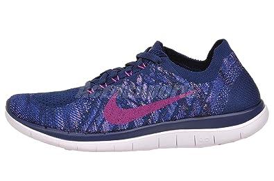 nike free 4.0 flyknit womens running shoe fuchsia care